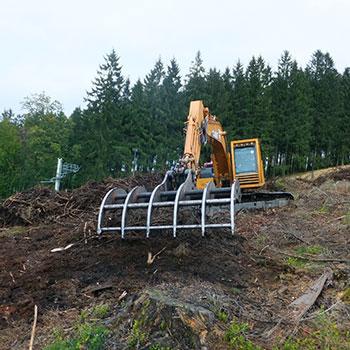 Préparation de terrains
